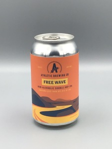 Athletic Brewing - Free Wave (12oz Can) - Non-Alcoholic